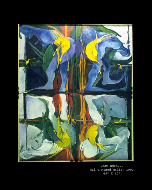 02_Lost Eden, 유화, 122cm x 102cm, 1992.jpg