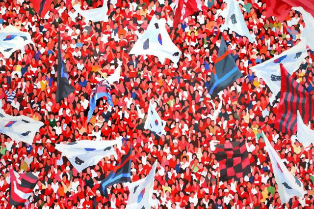 이상원 作_The Red 200x300cm acrylic on canvas 2015.jpg