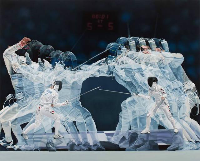 정형대 作_Collision1 130.3x162.2cm oil on canvas 2013.jpg