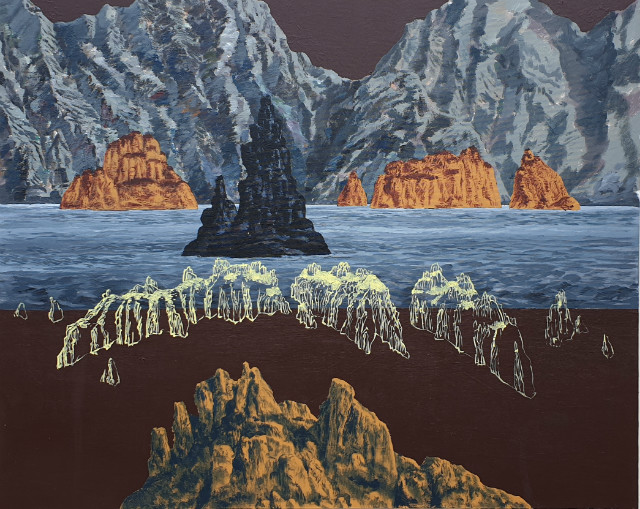 양해웅, 남명고군도2(南冥孤群島3), Acrylic on canvas, 162.2x130.3cm, 2018.jpg