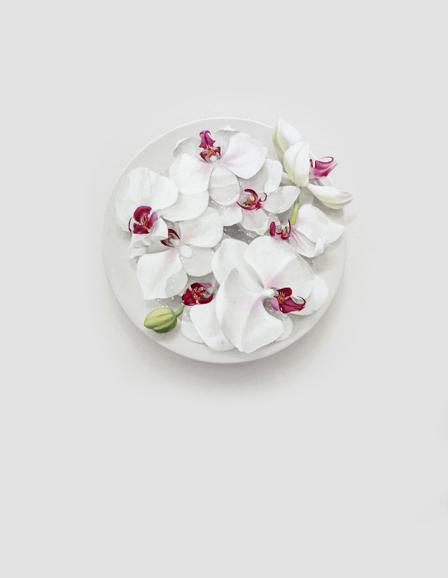 Eating Flower_45.5x33.4cm_oil on canvas_2018_윤영혜_양란.jpg