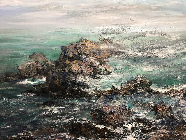 김인순   물의 소리, oil on canvas, 72.7x116.7cm, 2019.jpeg