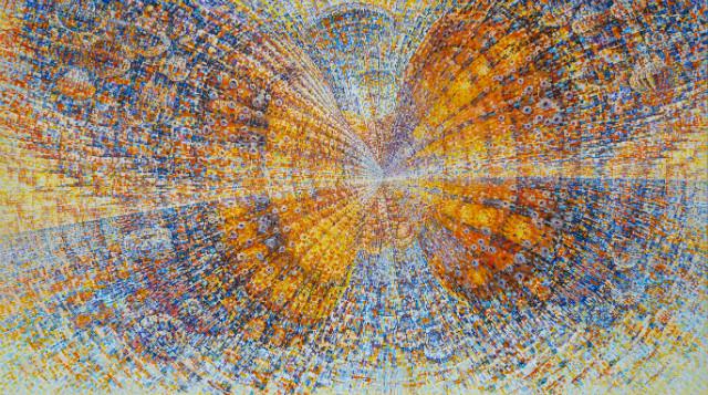 '나는나비' 'I am a butterfly', 217x122cm, Acrylic on canvas, 2019..jpg