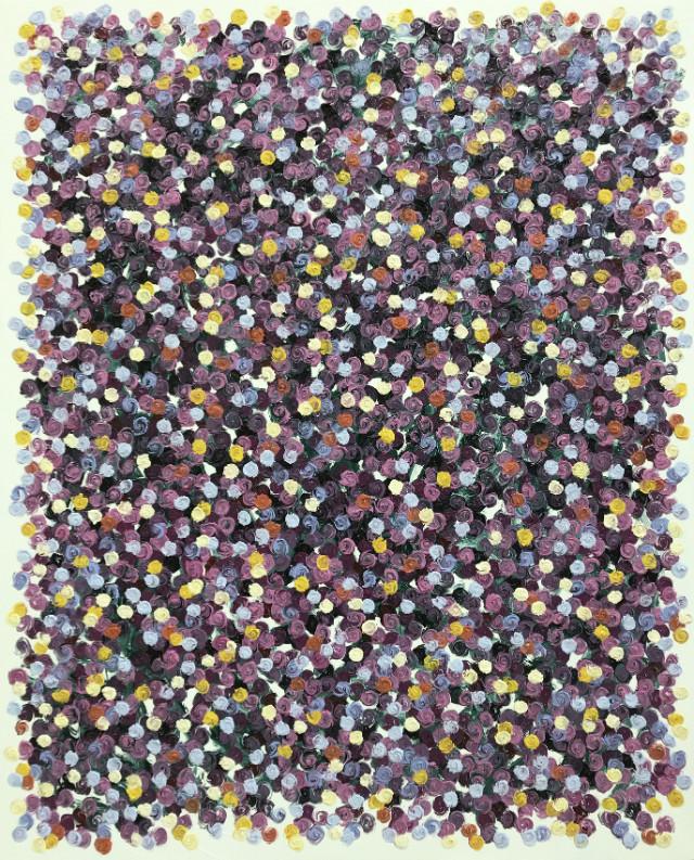 Rose SessionsⅡ-027(fleurs dans la vie) -100F(130.3x162.2cm), oil on canvas, 2018.JPG